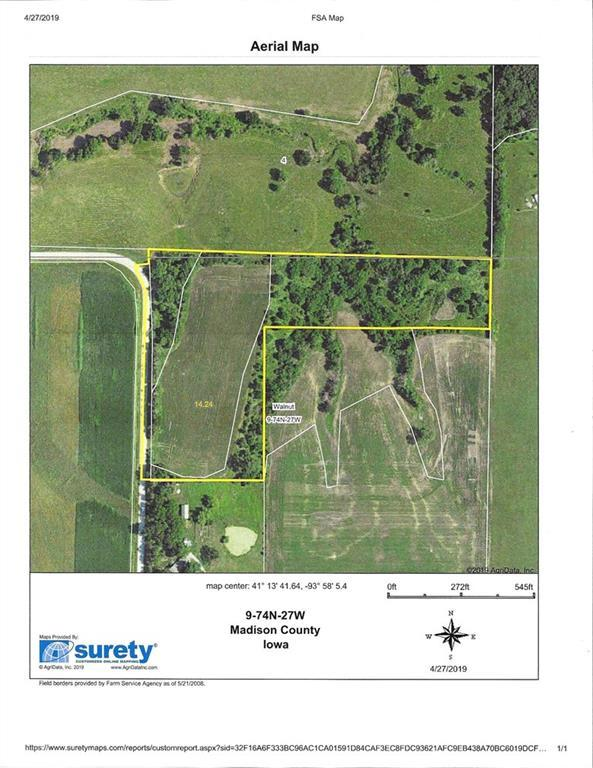 parcel 290th Street, Peru, IA 50222 (MLS #581202) :: Kyle Clarkson Real Estate Team