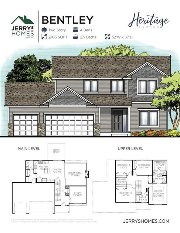2615 SE Willowbrook Drive, Waukee, IA 50263 (MLS #581978) :: Colin Panzi Real Estate Team