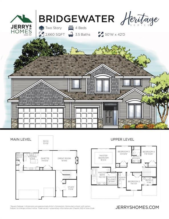 2610 SE Willowbrook Drive, Waukee, IA 50263 (MLS #582472) :: Pennie Carroll & Associates