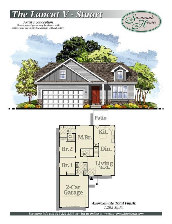 1608 NE 2nd Street, Stuart, IA 50250 (MLS #583328) :: Kyle Clarkson Real Estate Team