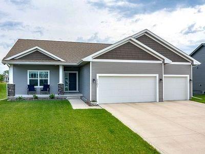 2101 NW Sunset Lane, Grimes, IA 50111 (MLS #584386) :: Kyle Clarkson Real Estate Team