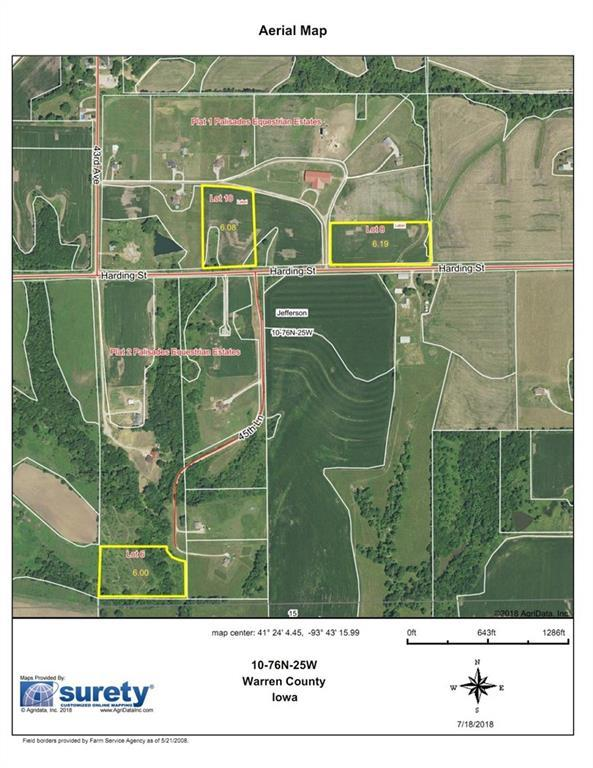Lot 6 45th Ln & Harding Street, Prole, IA 50229 (MLS #510550) :: Moulton & Associates Realtors