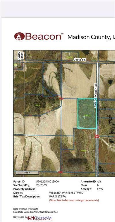 LOT G Dean Road And Fieldstone Ave Highway, Winterset, IA 50273 (MLS #614897) :: Better Homes and Gardens Real Estate Innovations