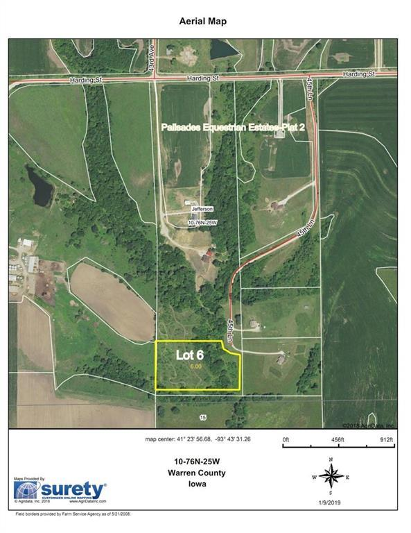 Lot 6 45th Ln & Harding Street, Prole, IA 50229 (MLS #510550) :: EXIT Realty Capital City