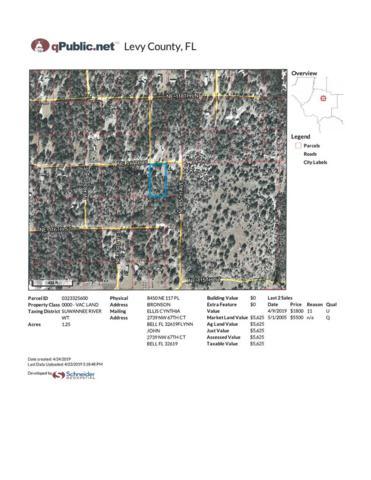 8450 117th Place NE, Bronson, FL 32621 (MLS #777783) :: Pristine Properties