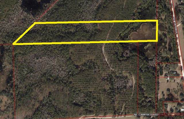 TBD Campbell Rd NE, Bronson, FL 32621 (MLS #779256) :: Pristine Properties