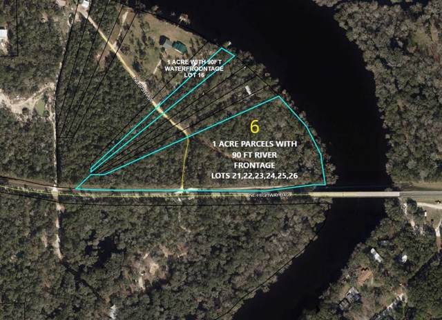 LOT 25 County Road 340 NE, Old Town, FL 32680 (MLS #779390) :: Compass Realty of North Florida