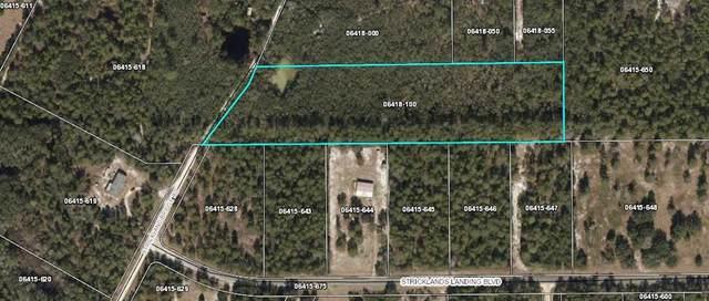 000 Strickland Bridge Rd, Perry, FL 32348 (MLS #780005) :: Pristine Properties