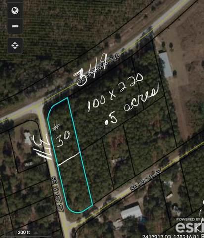 Lot 30 349th Ave NE, Suwannee, FL 32692 (MLS #782112) :: Compass Realty of North Florida