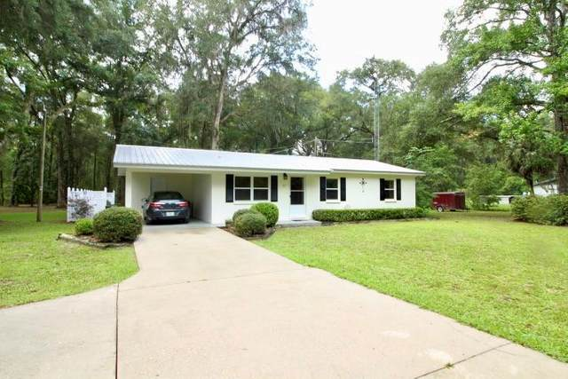61 SE 119th Ave, Old Town, FL 32680 (MLS #782552) :: Compass Realty of North Florida