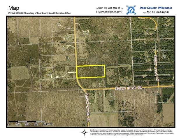 0 Maple Grove Rd, Fish Creek, WI 54212 (#136086) :: Town & Country Real Estate