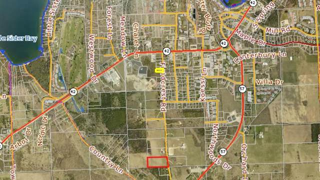 Lot 7 Fieldcrest Rd, Sister Bay, WI 54234 (#136080) :: Town & Country Real Estate