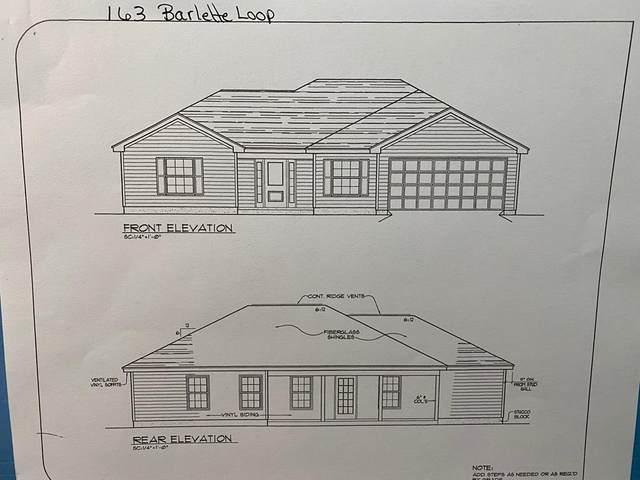 163 Bartlett Loop, Headland, AL 36345 (MLS #182187) :: Team Linda Simmons Real Estate