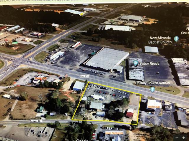 1989 Reeves St., Dothan, AL 36303 (MLS #175560) :: Team Linda Simmons Real Estate