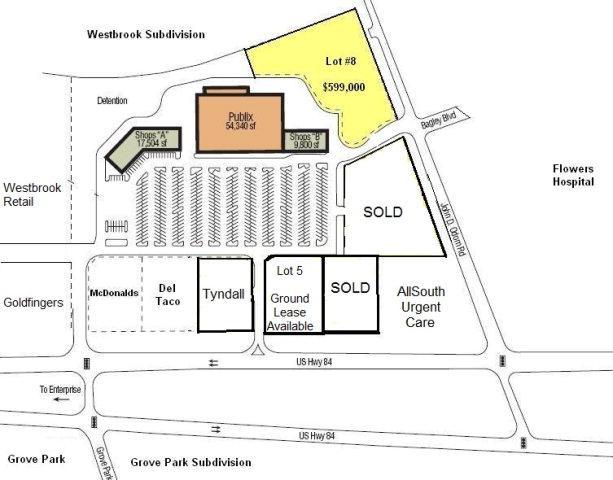 Lot #8 John D. Odom Road, Dothan, AL 36303 (MLS #134814) :: Team Linda Simmons Real Estate