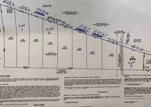 00 Hwy 134 E (Lot 2), Headland, AL 36345 (MLS #176400) :: Team Linda Simmons Real Estate