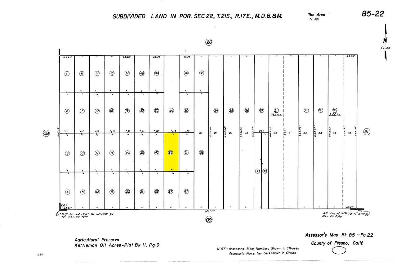 0 N1/2 Of S1/2 Lot 13 Kettleman Oil Acres - Photo 1
