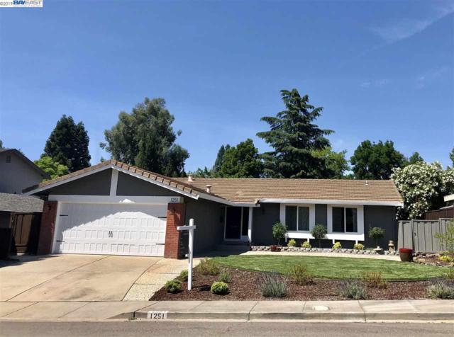 1251 Vintner Way, Pleasanton, CA 94566 (#40870097) :: Armario Venema Homes Real Estate Team