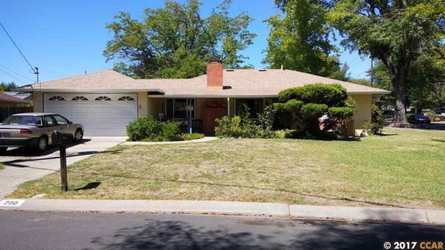 200 Evelyn Dr, Pleasant Hill, CA 94523 (#40789687) :: J. Rockcliff Realtors