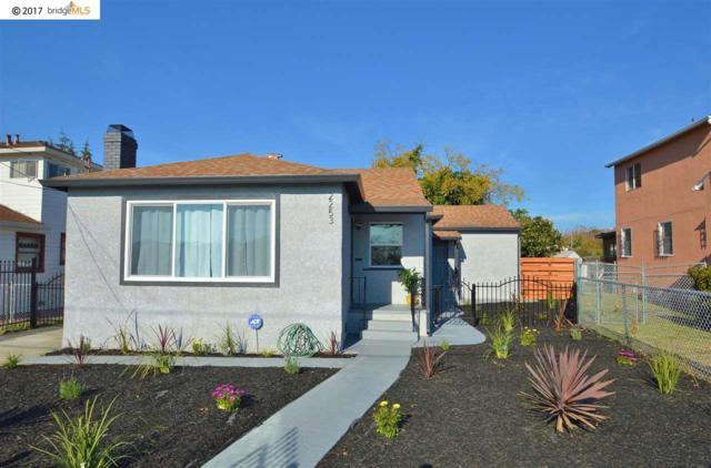 2253 Warner Ave, Oakland, CA 94603 (#40805699) :: Max Devries