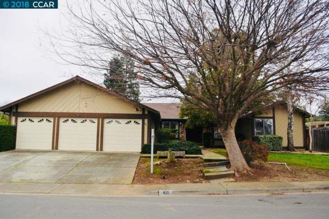 421 Zinfandel Cir, Clayton, CA 94517 (#40807895) :: Estates by Wendy Team