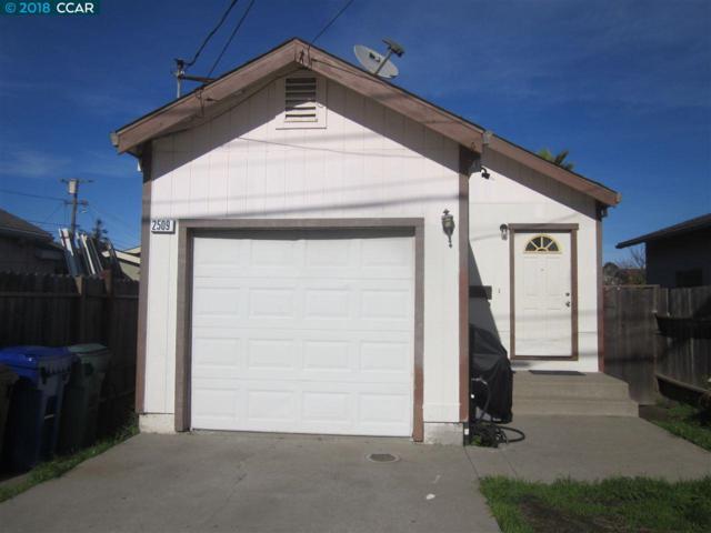 2509 Dover Ave, San Pablo, CA 94806 (#40809084) :: Armario Venema Homes Real Estate Team