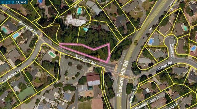 0 Springhill Road, Lafayette, CA 94549 (#40812568) :: Armario Venema Homes Real Estate Team