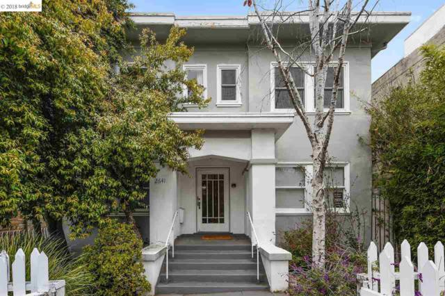 2641 Webster St #4, Berkeley, CA 94705 (#40814122) :: Armario Venema Homes Real Estate Team