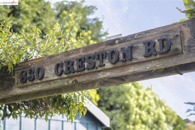 830 Creston Rd, Berkeley, CA 94708 (#40816953) :: Armario Venema Homes Real Estate Team