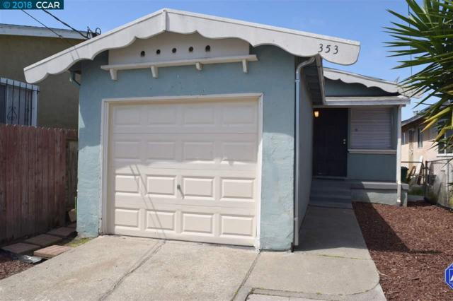 353 S 9Th St, Richmond, CA 94804 (#40819187) :: The Rick Geha Team