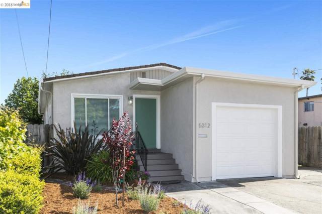 5312 School St, El Cerrito, CA 94530 (#40822012) :: The Grubb Company