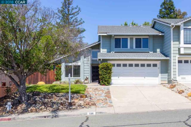536 Mesa Verde Pl, Pleasant Hill, CA 94523 (#40822616) :: Realty World Property Network