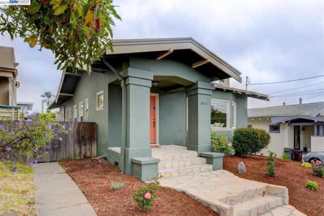 542 Montclair Ave, Oakland, CA 94606 (#40823277) :: Armario Venema Homes Real Estate Team