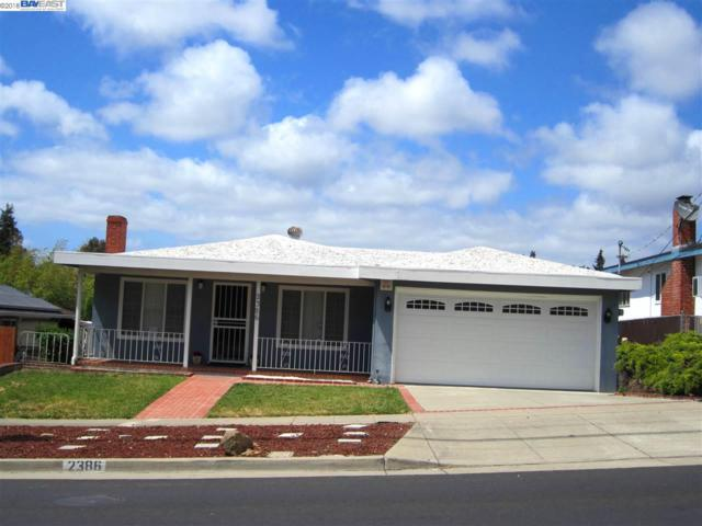2386 Kelly St, Hayward, CA 94541 (#40824448) :: Armario Venema Homes Real Estate Team