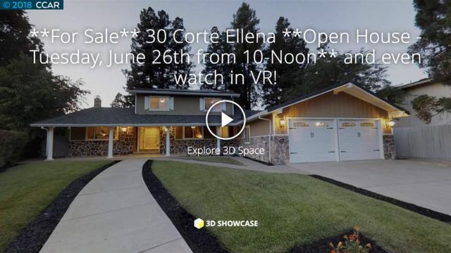 30 Corte Ellena, Walnut Creek, CA 94598 (#40827042) :: The Grubb Company
