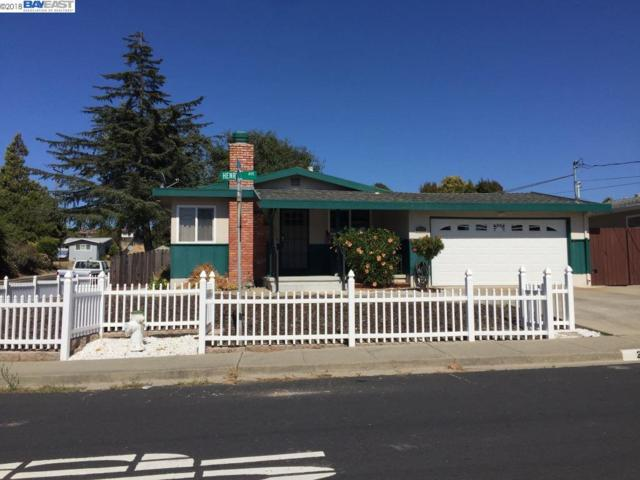 2631 Henry Ave, Pinole, CA 94564 (#40832971) :: Armario Venema Homes Real Estate Team