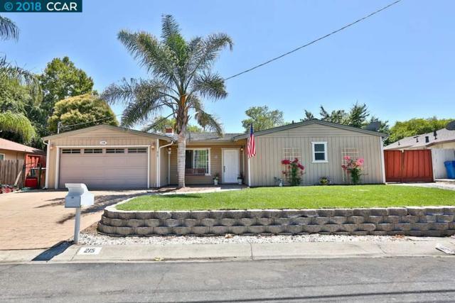215 Cleopatra Dr, Pleasant Hill, CA 94523 (#40833003) :: Armario Venema Homes Real Estate Team