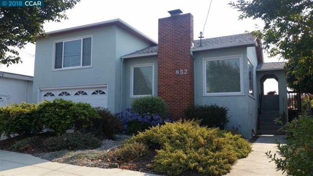 852 34Th St, Richmond, CA 94805 (#40833792) :: Armario Venema Homes Real Estate Team