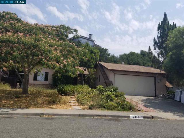 2478 Moore Ct, Pinole, CA 94564 (#40834356) :: Armario Venema Homes Real Estate Team