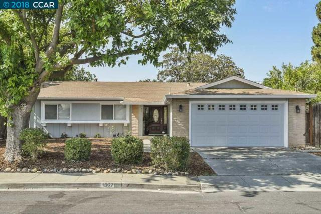 1867 Elkwood Dr, Concord, CA 94519 (#40835016) :: RE/MAX Blue Line