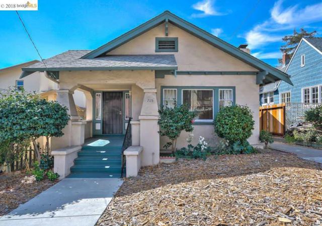 715 E 24Th St, Oakland, CA 94606 (#40841835) :: Armario Venema Homes Real Estate Team