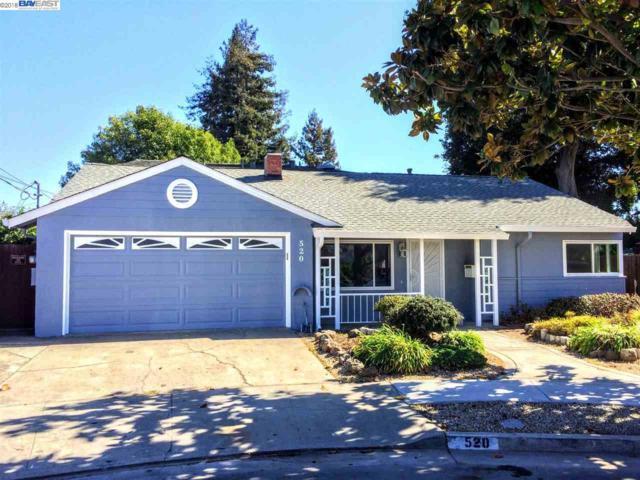 520 Sequoia Rd, Hayward, CA 94541 (#40842221) :: Armario Venema Homes Real Estate Team