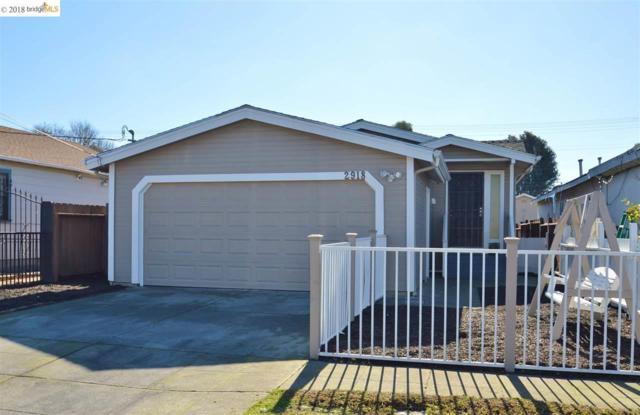 2918 Center Ave, Richmond, CA 94804 (#40848203) :: The Grubb Company
