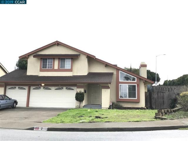 2 Cherrywood Ct, San Pablo, CA 94806 (#40850614) :: Armario Venema Homes Real Estate Team
