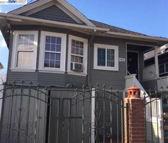1219 41st Ave, Oakland, CA 94601 (#40853122) :: Armario Venema Homes Real Estate Team