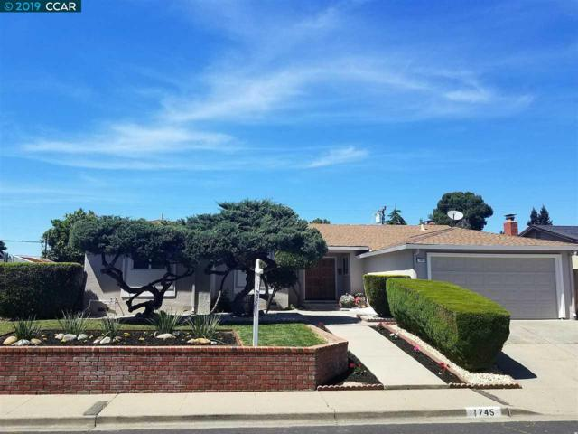 1745 Woodcrest Dr, Concord, CA 94521 (#40861902) :: The Grubb Company
