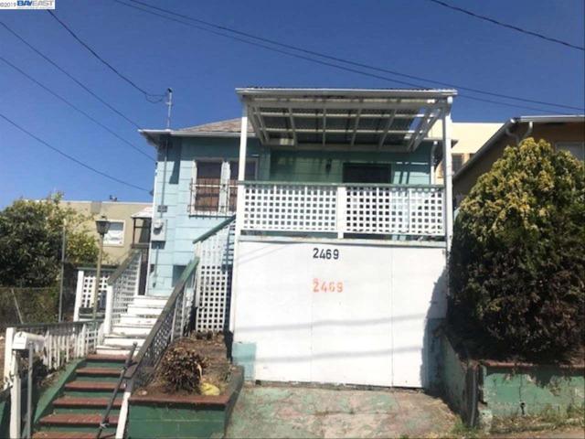 2469 Potter St, Oakland, CA 94601 (#40864152) :: The Grubb Company