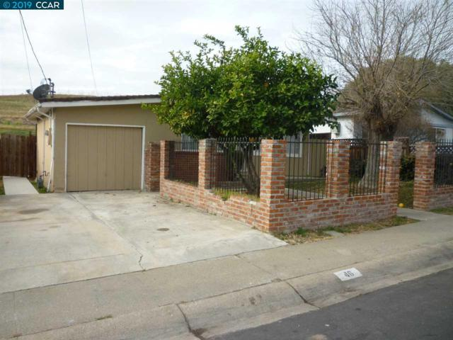 46 Virginia Dr., Bay Point, CA 94565 (#40869314) :: The Lucas Group