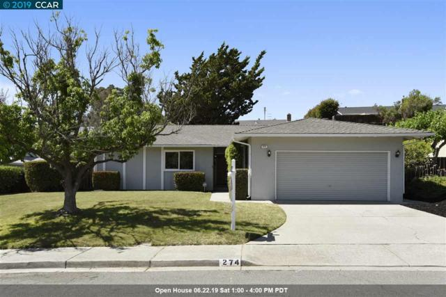 274 Fernwood Dr, Pleasant Hill, CA 94523 (#40870869) :: The Lucas Group
