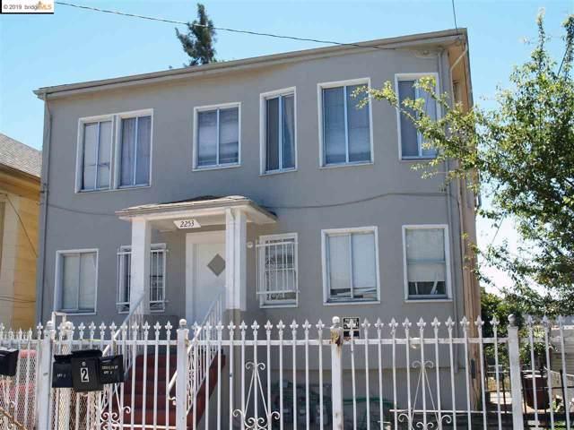 2253 E 15Th St, Oakland, CA 94606 (#40880524) :: Armario Venema Homes Real Estate Team